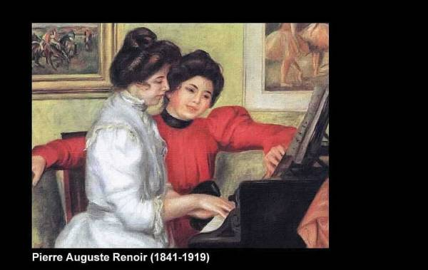Dulce tienda (Cuadro de Renoir)